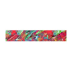 Expressive Abstract Grunge Flano Scarf (Mini)