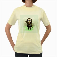 Breakfast Plush Women s Yellow T-Shirt