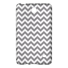 Medium Grey & White Zigzag Pattern Samsung Galaxy Tab 4 (7 ) Hardshell Case