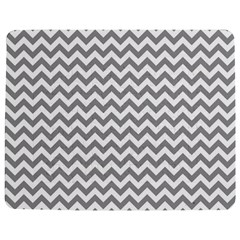 Medium Grey & White Zigzag Pattern Jigsaw Puzzle Photo Stand (rectangular)