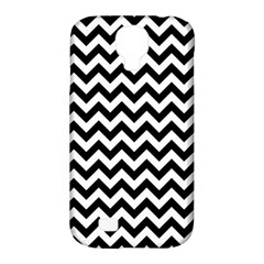 Black & White Zigzag Pattern Samsung Galaxy S4 Classic Hardshell Case (PC+Silicone)