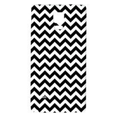 Black & White Zigzag Pattern Samsung Note 4 Hardshell Back Case