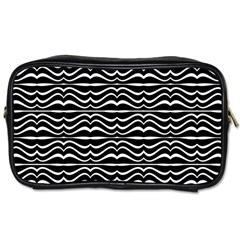 Modern Zebra Pattern Toiletries Bags 2-Side