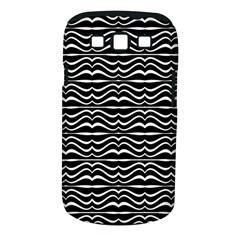 Modern Zebra Pattern Samsung Galaxy S III Classic Hardshell Case (PC+Silicone)
