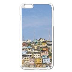 Cerro Santa Ana Guayaquil Ecuador Apple iPhone 6 Plus/6S Plus Enamel White Case