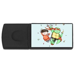 Mike & Tum Tum USB Flash Drive Rectangular (1 GB)