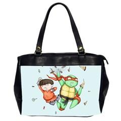 Mike & Tum Tum Office Handbags (2 Sides)