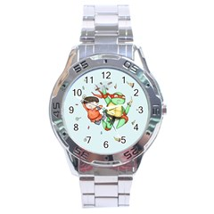 Mike & Tum Tum Stainless Steel Analogue Watch