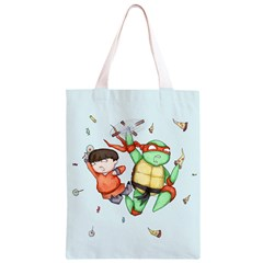 Mike & Tum Tum Classic Light Tote Bag