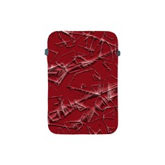 Thorny Abstract,red Apple iPad Mini Protective Soft Cases