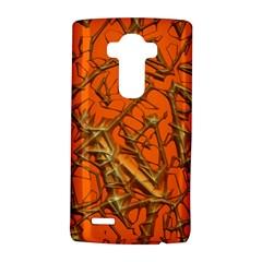 Thorny Abstract, Orange LG G4 Hardshell Case