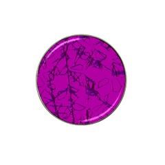Thorny Abstract,hot Pink Hat Clip Ball Marker