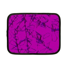 Thorny Abstract,hot Pink Netbook Case (Small)
