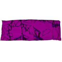 Thorny Abstract,hot Pink Body Pillow Case Dakimakura (two Sides)