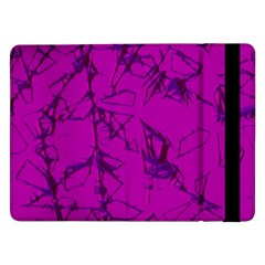 Thorny Abstract,hot Pink Samsung Galaxy Tab Pro 12.2  Flip Case