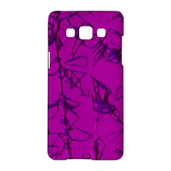 Thorny Abstract,hot Pink Samsung Galaxy A5 Hardshell Case