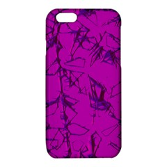 Thorny Abstract,hot Pink iPhone 6/6S TPU Case