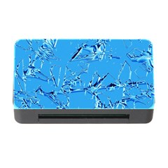 Thorny Abstract,ice Blue Memory Card Reader With Cf