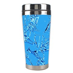 Thorny Abstract,ice Blue Stainless Steel Travel Tumblers