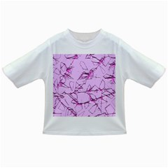 Thorny Abstract,soft Pink Infant/Toddler T-Shirts