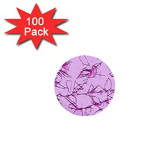 Thorny Abstract,soft Pink 1  Mini Buttons (100 pack)