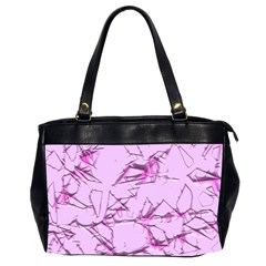 Thorny Abstract,soft Pink Office Handbags (2 Sides)