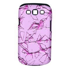 Thorny Abstract,soft Pink Samsung Galaxy S III Classic Hardshell Case (PC+Silicone)