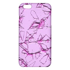 Thorny Abstract,soft Pink Iphone 6 Plus/6s Plus Tpu Case