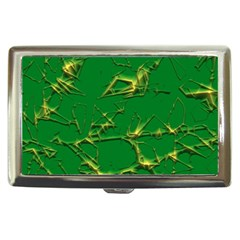 Thorny Abstract,green Cigarette Money Cases