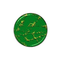 Thorny Abstract,green Hat Clip Ball Marker (10 pack)