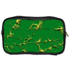 Thorny Abstract,green Toiletries Bags