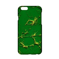 Thorny Abstract,green Apple iPhone 6/6S Hardshell Case
