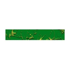Thorny Abstract,green Flano Scarf (Mini)
