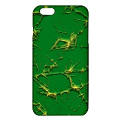 Thorny Abstract,green iPhone 6 Plus/6S Plus TPU Case