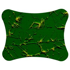 Thorny Abstract,green Jigsaw Puzzle Photo Stand (Bow)