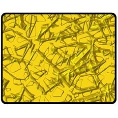 Thorny Abstract,golden Fleece Blanket (medium)