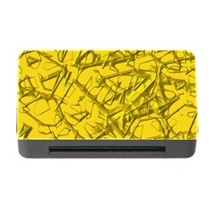 Thorny Abstract,golden Memory Card Reader with CF