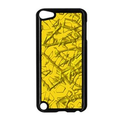 Thorny Abstract,golden Apple iPod Touch 5 Case (Black)