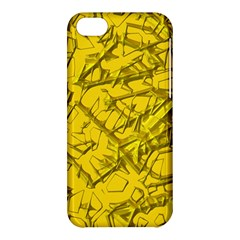 Thorny Abstract,golden Apple iPhone 5C Hardshell Case