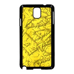 Thorny Abstract,golden Samsung Galaxy Note 3 Neo Hardshell Case (Black)
