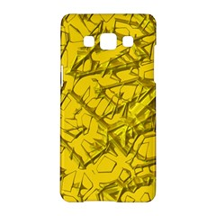 Thorny Abstract,golden Samsung Galaxy A5 Hardshell Case