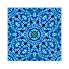 Blue Sea Jewel Mandala Acrylic Tangram Puzzle (6  x 6 )