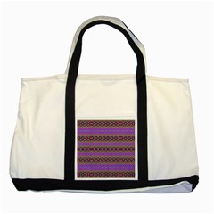 Saturn Sun Two Tone Tote Bag