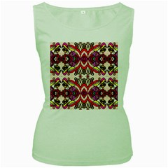 Birds Women s Green Tank Top
