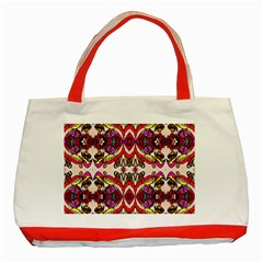 Birds Classic Tote Bag (red)