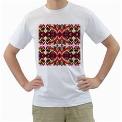 Birds Men s T Shirt (white)