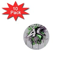 Recently Deceased 1  Mini Buttons (10 pack)