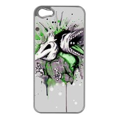 Recently Deceased Apple iPhone 5 Case (Silver)