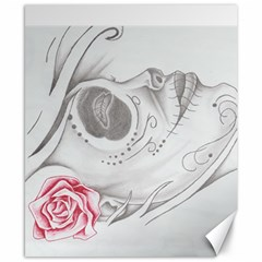 day of the dead Canvas 8  x 10