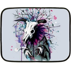 From Nature We Must Stray Fleece Blanket (mini)